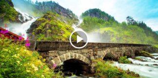 Удивительный район Хардангер в Норвегии. Дух захватывает от этой красоты!