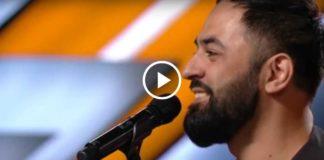 Когда он спел свою песню, весь зал взорвался овациями!