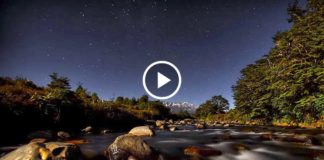 Потрясающее видео: пейзажи, ночное небо и звезды. Полный улёт...!